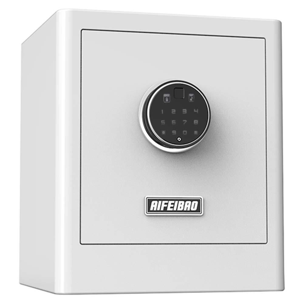 Caja Fuerte Pequeña caja de seguridad para el hogar para joyería con pistola en efectivo, Cajas