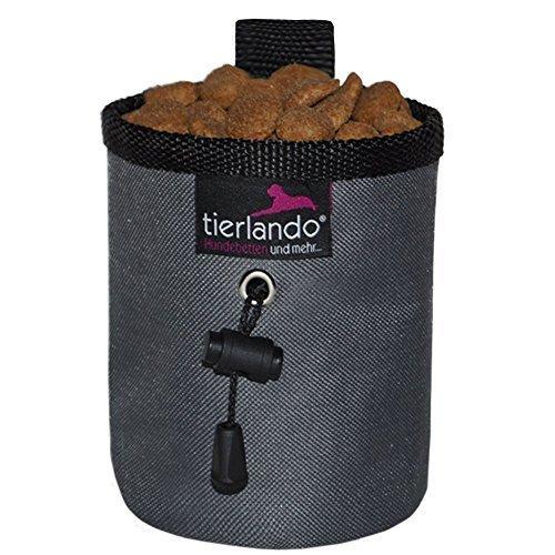 tierlando double-couche Sac de friandise GRAPHITE Traiter de sac Snackbeutel traiter de sac Sachet de nourriture - Li-02