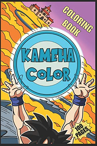 KAMEHA COLOR: Drawing book and coloring - More of 100 Super Heroes Manga Z !