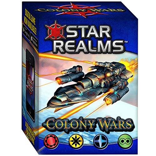 Star Realms – Colony Wars – Deckbuilding Spiel + Erweiterung