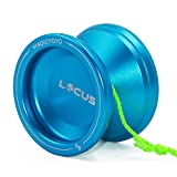 MAGICYOYO Professional Responsive Yoyo Ball for Beginners Starter Kids V6 LOCAS Space Yo-yos 5 Strings Gloves + Yo yos Bag