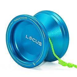 Magic Yoyo Ball V6 Locus Space Yoyo Aluminum Metal Responsive Yoyos Ball Bearing