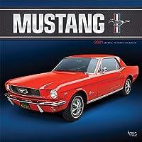 Mustang 2021 Calendar: Foil Stamped Cover