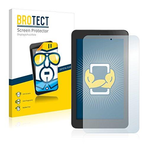 BROTECT Schutzfolie kompatibel mit Alcatel One Touch Pop 7 (2 Stück) klare Displayschutz-Folie