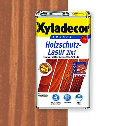 Xyladecor Holzschutz-Lasur 2in1 (750 ml, mahagoni)