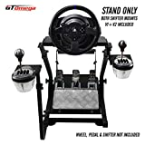 GT Omega Support de Volant pour Thrustmaster T300RS Force Feedback Racing roue & V2...