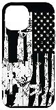 iPhone 12 Pro Max USA American Flag Guns 2A 2nd Amendment Gun Owner Guys Gift Case