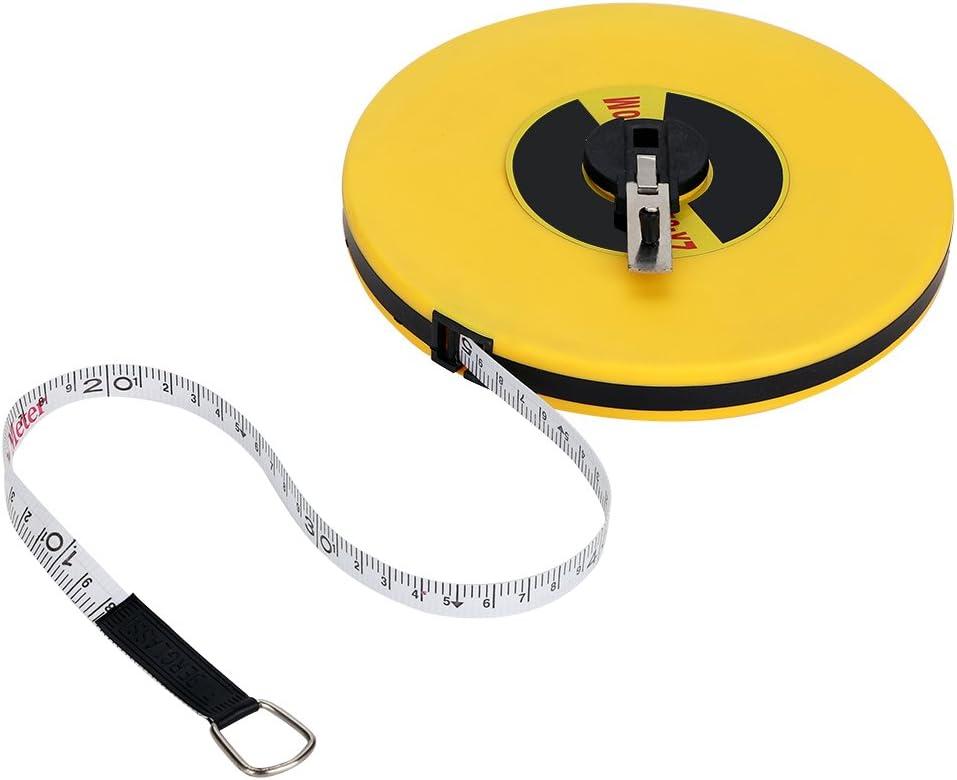 Junluck Measuring Tool Fiberglass Large-scale sale Tape Meter Measu Now on sale 50
