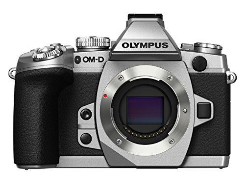 Olympus OM-D E-M1 Systemkamera-Gehäuse (16,3 Megapixel, Live MOS Sensor, 7,6 cm (3 Zoll) LCD-Display, Blitzschuh, Videofunktion, Bluetooth, WiFi) silber