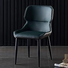 CHYSP Krzesło do jadalni rodzinne nowoczesne proste tylne krzesło hotel restauracja rekreacyjne krzesło konferencyjne (kol...