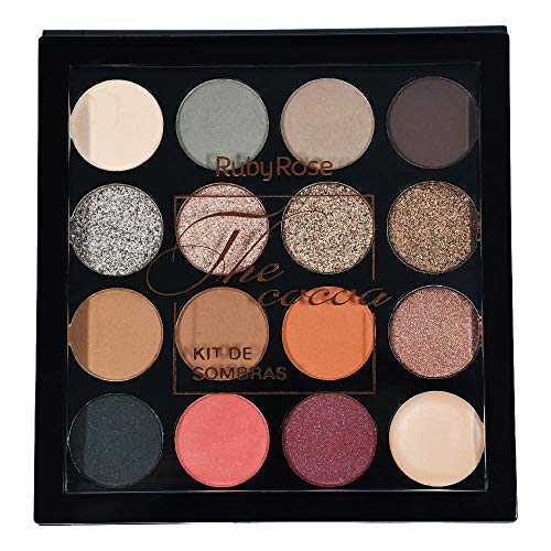 Maquiagem Kit de Sombras Ruby Rose The Cocoa HB1021