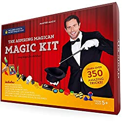 cheap MasterMagic Magic Kit-Easy Magic Tricks for Kids-Learn over 350 exciting tricks …