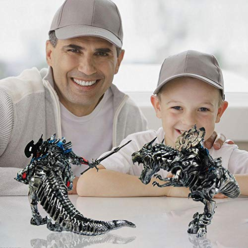 G-wukeer Dinosaurio Jurásico Transformando Juguetes, Transformers Optimus Prime Tyrannosaurus Dinosaur Modelo Juguetes Infantiles Decoración