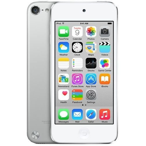 Apple iPod Touch 16GB (5th Generation) Silver (Certified Refurbished)