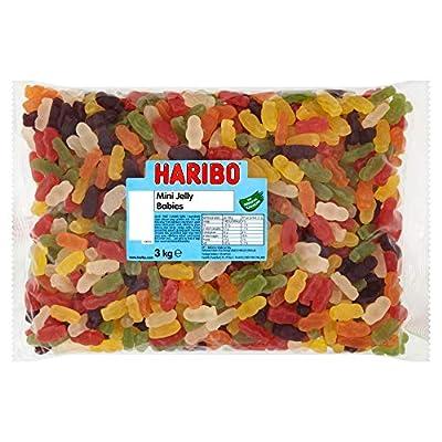 haribo mini jelly babies bulk bag 3 kg HARIBO Mini Jelly Babies Bulk Bag 3 kg (Pack of 1) 11150 51Wm1DBUv4L