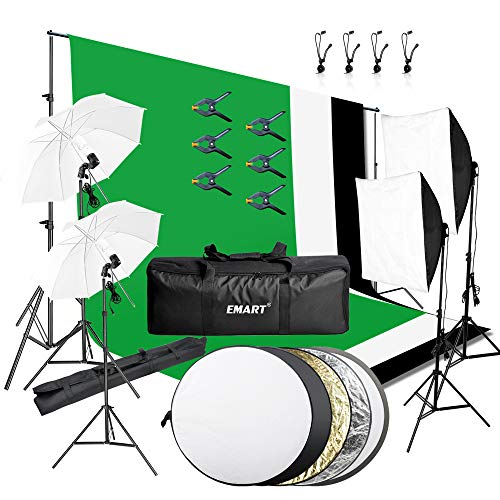 Emart 8.5 x 10 ft Backdrop Suppo...