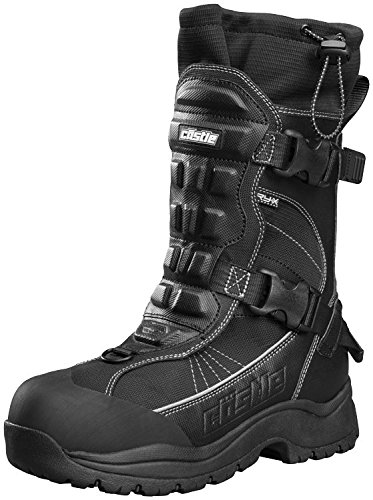 Castle X Barrier 2 Mens Snowmobile Boot - Gray (11)