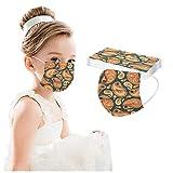 mzDkc0d Impresión Digital de Flores de anacardo para niños Industrial 3 Capas Ear Loop 𝐌𝐚𝐬𝐜𝐚𝐫𝐢𝐥𝐥𝐚𝐬 T...