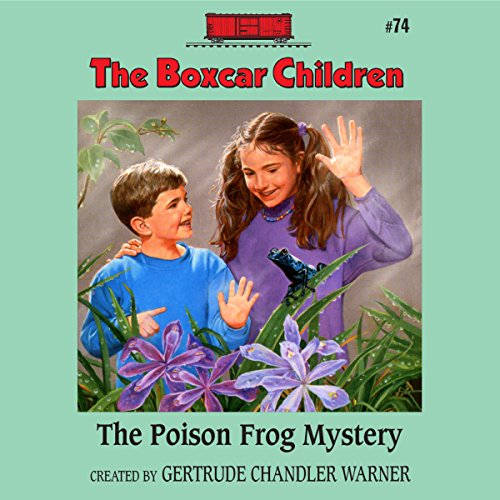 The Poison Frog Mystery audiobook cover art