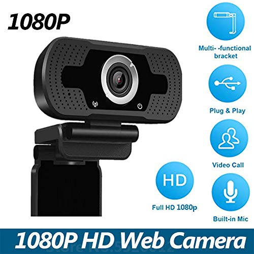 USB Webcam with Microphone,1080P Webcam for Video Calling and Home Office, Recording, Net Meeting, Desktop or Laptop Camera for Skype, Facetime, MSN,USB Computer Camera for Windows, Mac