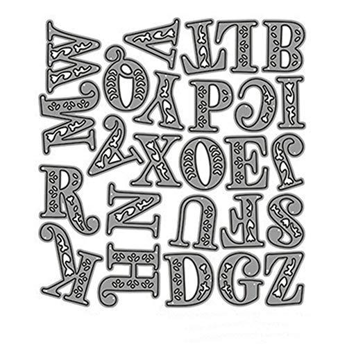 AbbyNi DIY Stanzschablone aus Metall, Metall Prägeschablonen Stanzmaschine Stanzformen Schablonen Schneiden für DIY Scrapbooking