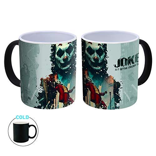 Joker - Taza de café (cerámica Que Cambia el Calor, 300 ml)