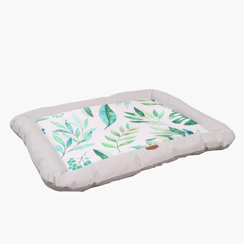 CHEN. Pet beddog bed summer waterproof biteresistant nonstick hair summer summer mat mat pet dog bed pet supplies,Silver,M