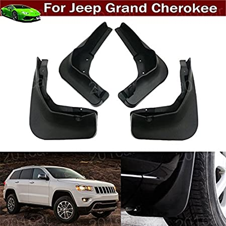 Front /& Rear Mud Flaps Mudguards Splash Guards For Jeep Grand Cherokee 2011-16
