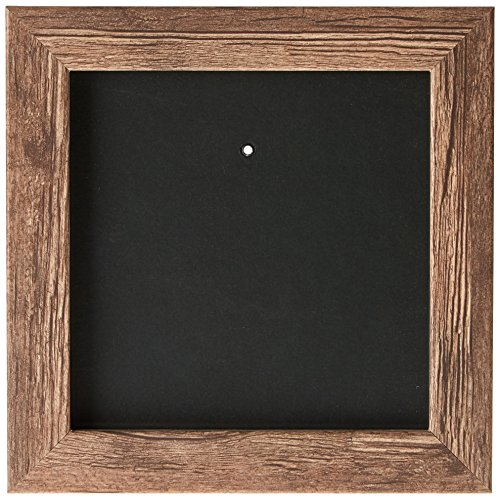 Deknudt Frames S45RH3-13.0X13.0 Bilderrahmen, Holz, Block-Zierleiste, 17,1 x 17,1 x 2,2 cm, Braun
