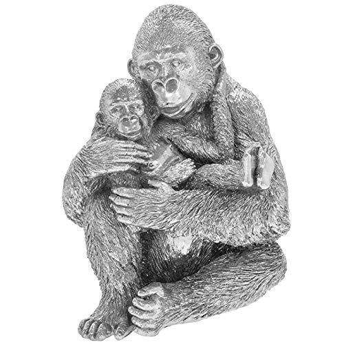 The Leonardo Collection - Scultura in argento con scritta 'Mother & Baby'
