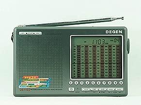 GOWE 10pcs wholesale DEGEN DE1103 PLL DIGITAL FM Stereo / AM / LM / SW SSB World Band Radio Receiver