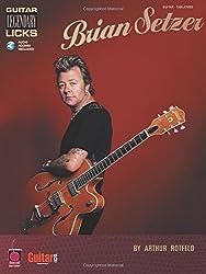 Brian setzer - guitar legenda licks guitare +enregistrements online