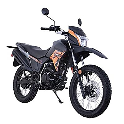 Lifan X-Pect EFI Bike Adult Dirt Bike 200cc 14hp Enduro Motorcycle Street Bike Dirt Bikes Fuel Injection Assembled(Orange) by Lifan