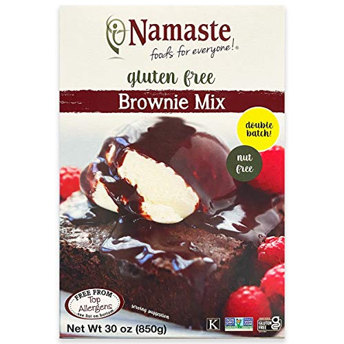 Namaste Foods Gluten Free Brownie Mix 30Ounce Boxes Pack of 6 – AllergenFree Vegan Friendly