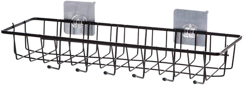 GJD Iron Fence Storage Basket Kitchen Rack Rack Rack Shelf Shelf