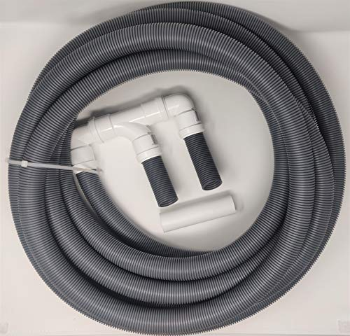 BITS4REASONS NEW 2019 MODEL DOUBLE CARAVAN (TWIN) CARAVAN WASTE WATER OUTLET PIPE SYSTEM WITH 10 METRE SITE PIPE OPTION WITH FLOPLAST HOME PLUMBING GRADE FITTINGS CE STANDARD TESTED TO EN 1451