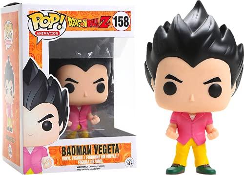 Funko - Figurine DBZ - Badman Vegeta Exclu Pop 10cm - 0889698117265