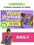 10 Minute Waist Workout for Women - Slim Waist Exercises at Home