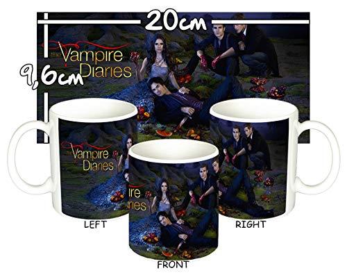 MasTazas Cronicas Vampiricas The Vampire Diaries J Tasse Mug