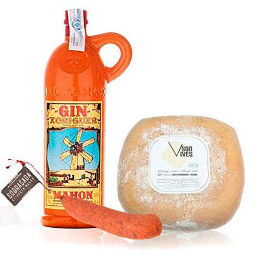 Pack Gin Xoriguer Canet 70 cl. Queso Mahón Son Vives Semi Curado...