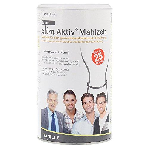 xlim Aktiv Mahlzeit for men Vanille, 500 g Pulver