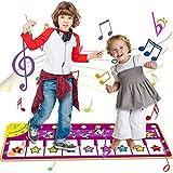 Jouet Enfant 1 2 3 4 5 6 Ans Garçons Filles,Tapis de Jeu pour Piano,Jouet de Tapis de Musique pour Piano pour Enfants, Tapis de Danse drôle de Taille pour bébés,Cadeau pour garçons et Filles 1-6 Ans