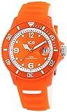 Ice-Watch Ice-Sunshine - Reloj de Cuarzo Unisex, con Correa de Silicona, Color Naranja