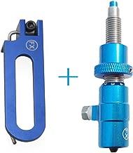 AMEYXGS Tiro con Arco Magnéticas ReposaFlechas del Tiro con Arco con Botón Cojín Émbolo para Arco Recurvo
