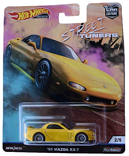 Hot Wheels '95 Mazda RX-7 Street Tuners 2/5 Car Culture 1:64 FYN75 FPY86