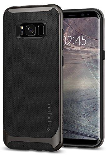 Spigen Neo Hybrid Hülle Kompatibel mit Samsung Galaxy S8 -Gunmetal