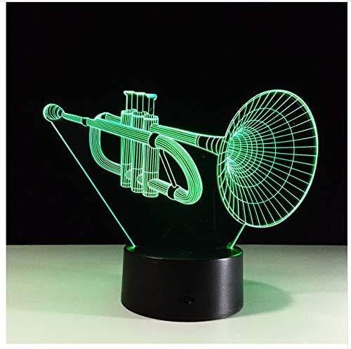 Suona Tube Musikinstrument 7 Farben Led Nachtlampe Touch Usb Schreibtisch Tischdekoration Lichtbox