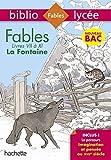 Bibliolycée Fables de la Fontaine Bac 2020 - Livres de VII à XI