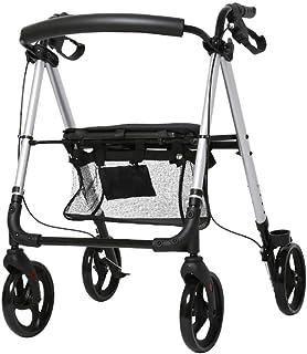 ALUA- Old Man Trolley, Can Take A Walker, Auxiliary Walker, Light Folding, Multi-Function Walker