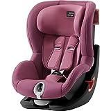 Britax Römer Kindersitz 9 Monate - 4 Jahre I 9 - 18 kg I KING II Autositz Gruppe 1 I Wine Rose